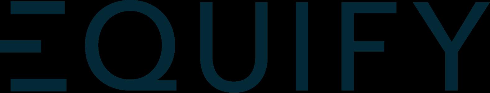 Logo Equify - Bleu
